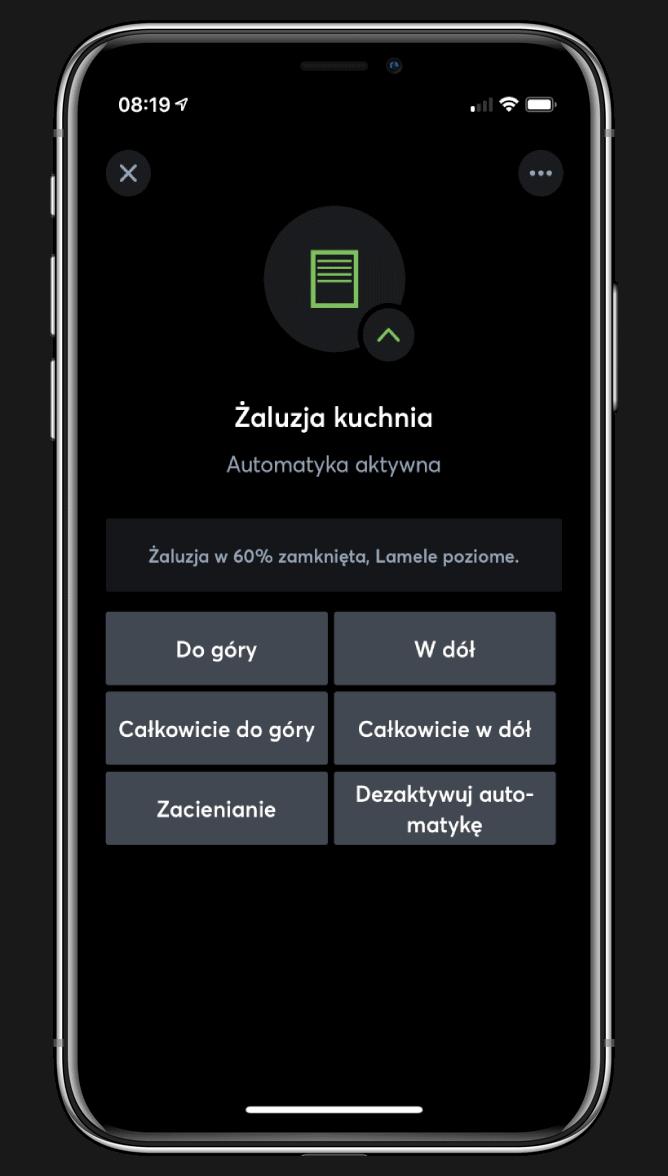 Aplikacja Mobilna do sterowania Systemem Inteligentnego Domu