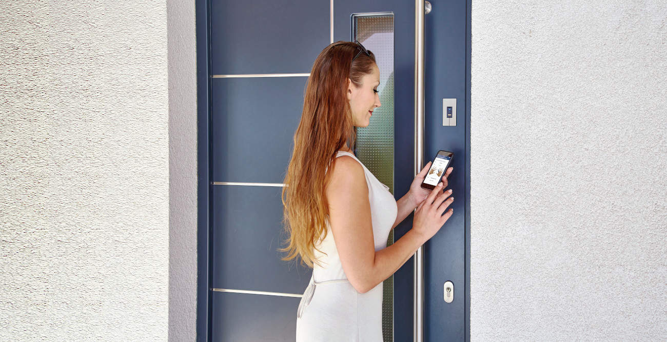 Skaner palca do drzwi ekey integra
