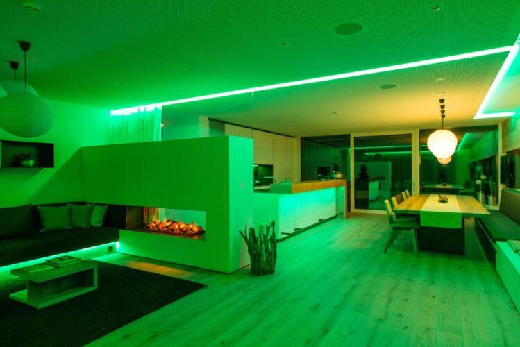 Sterowanie smart oświetleniem RGBW