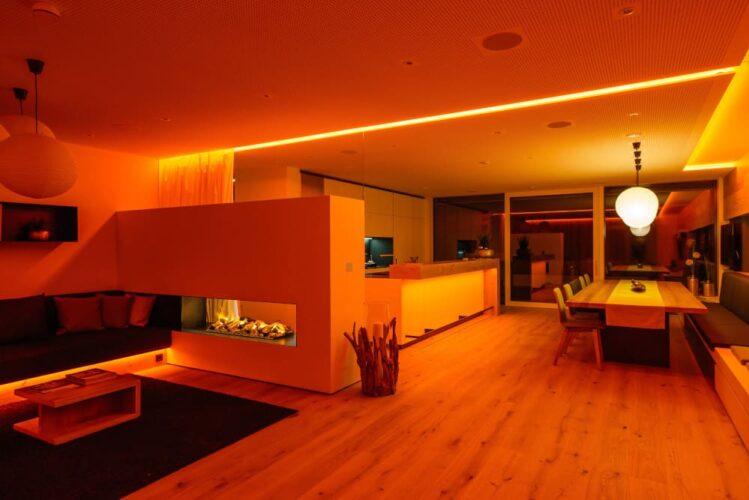 Oświetlenie w smarthome LED RGBW