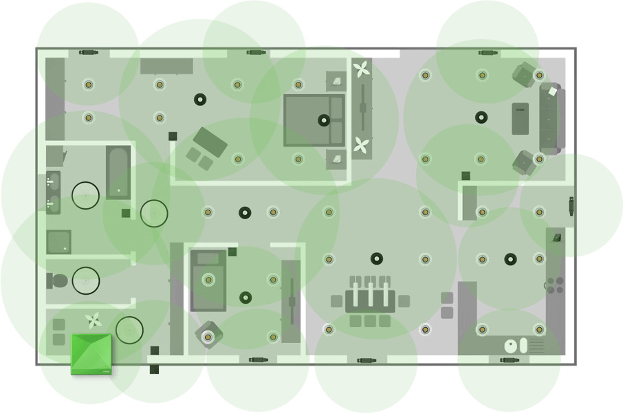 Schemat Topologii Loxone Air