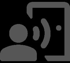 Czytnik linii papilarnych ekey dLine integracja z asystentem głosowym